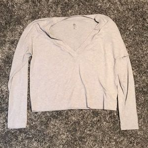 Athletic long sleeve stop